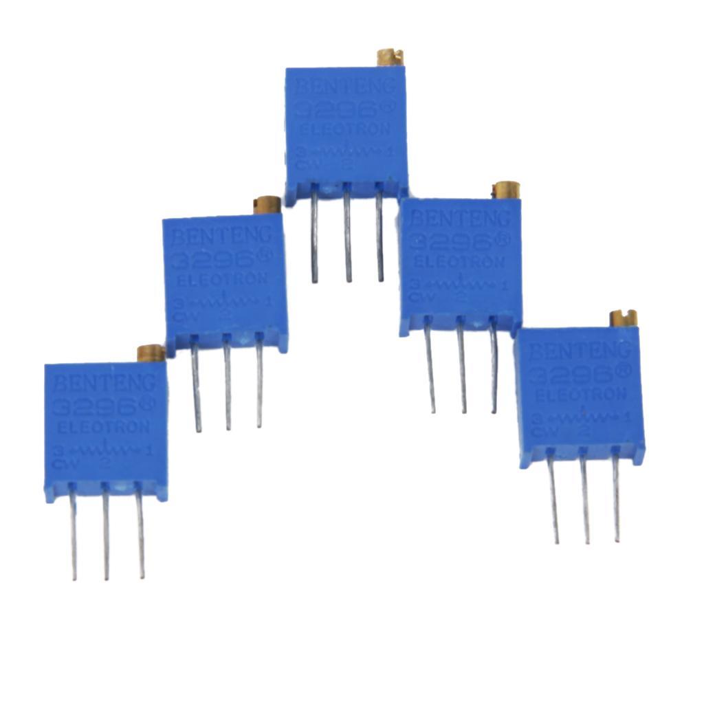 5pcs 200K ohm 3296W-204 Trimmer Trim Pot Potentiometers