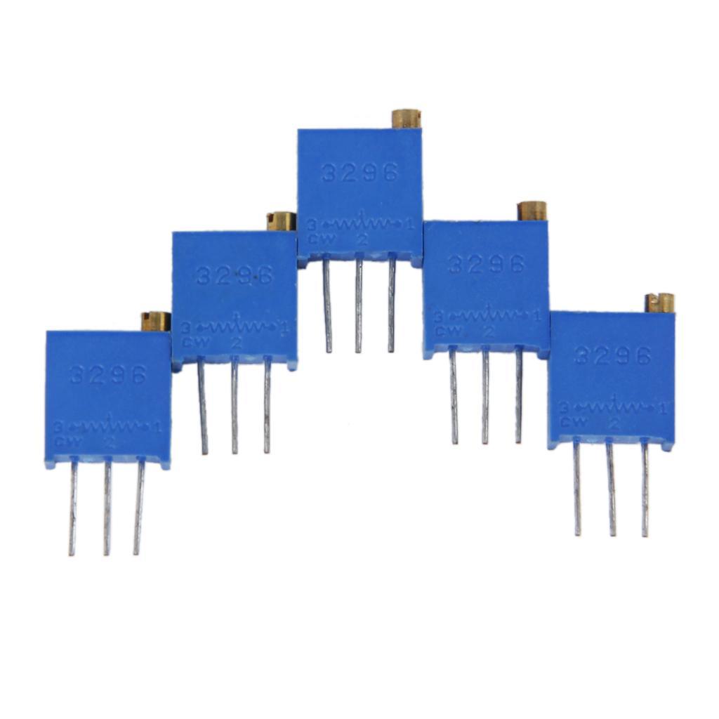 5pcs 10K ohm 3296W-103 Trimmer Trim Pot Potentiometers