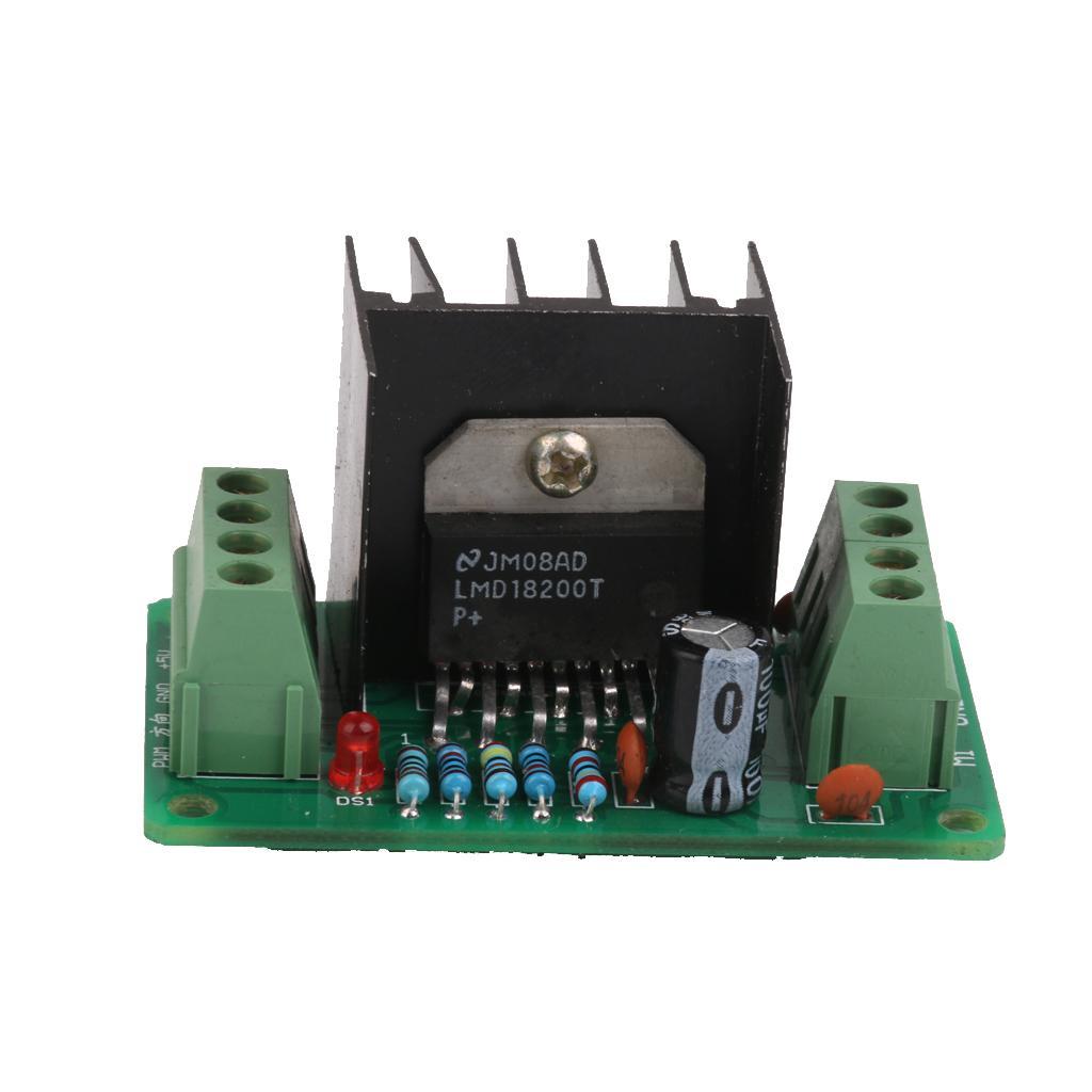 LMD18200T H-Bridge DC Motor Driver Module Board Smart Car For Arduino