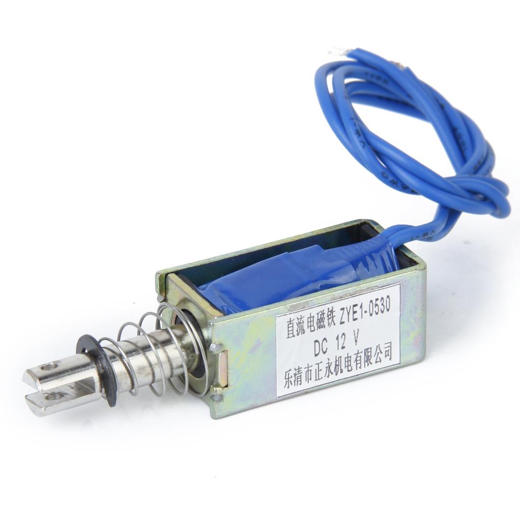 Pull Type Open Frame Solenoid Electromagnet ZYE1-0530
