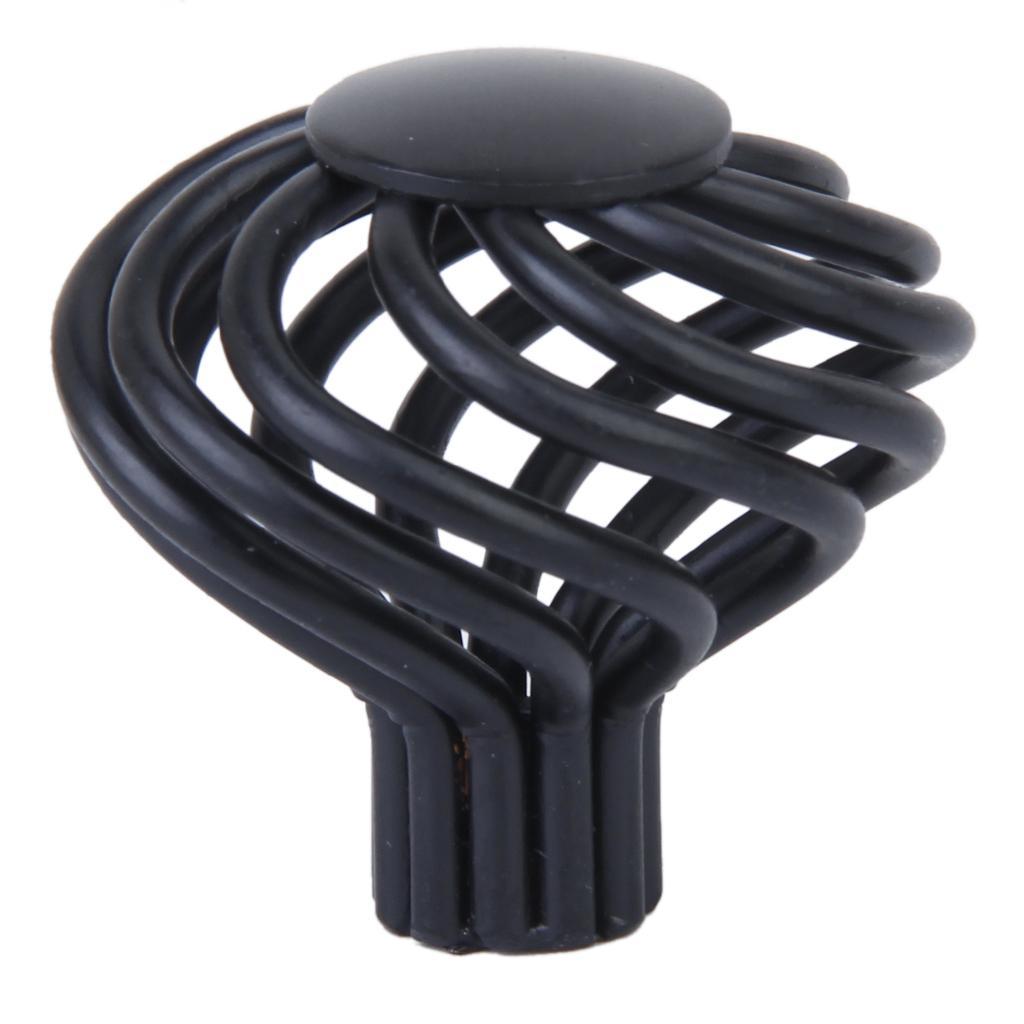 Spiral Cage Design Kitchen Cabinet Cupboard Handles Knob - Diameter 3.4cm