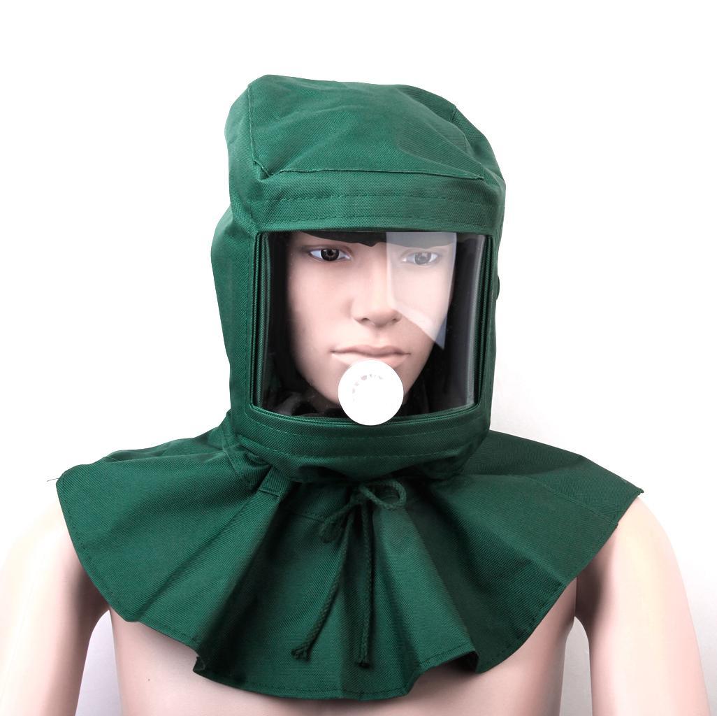 Sand Blasting Hood Sandblaster Mask TOOLS Anti Wind Protective Mask