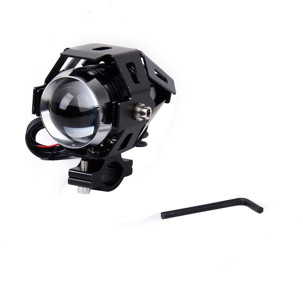 125W U5 LED Driving Fog Head Spot Light Lamp Headlight For Motorcycle