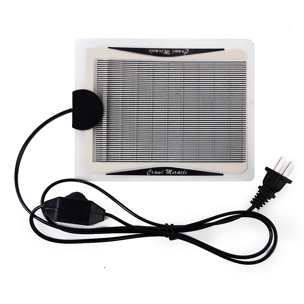5W Adjustable Temperature Reptile Heating Heater Pet Warmer Bed Mat
