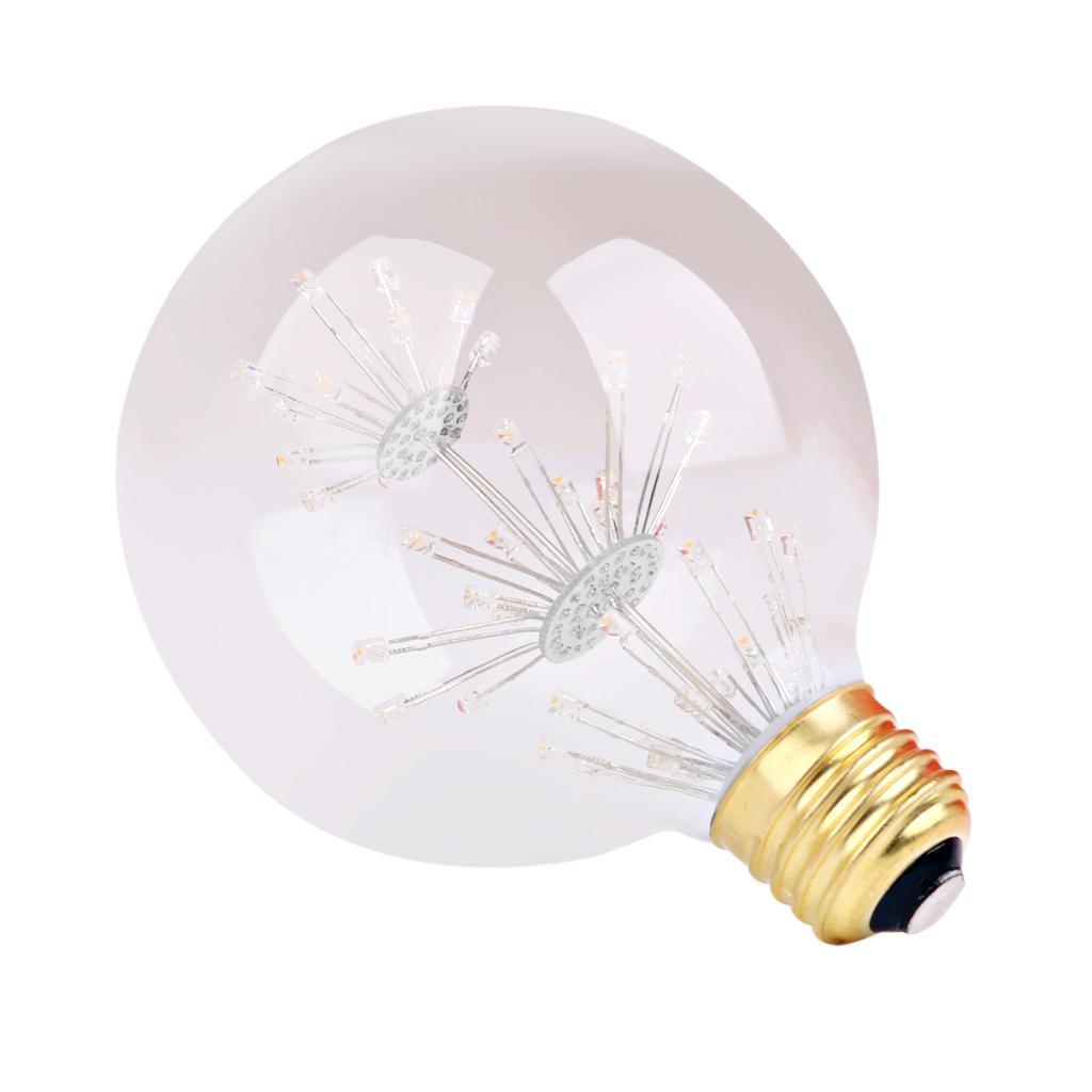AC110-120V 3W Edison Filament Vintage Antique Global LED Light Bulb E27 G95