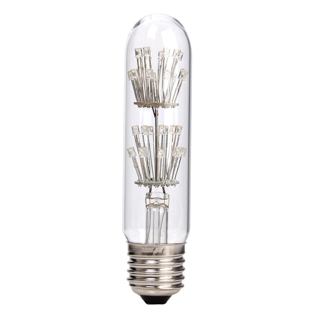 AC220-240V 3W Edison Filament Vintage Antique LED Light Bulb E27 T10