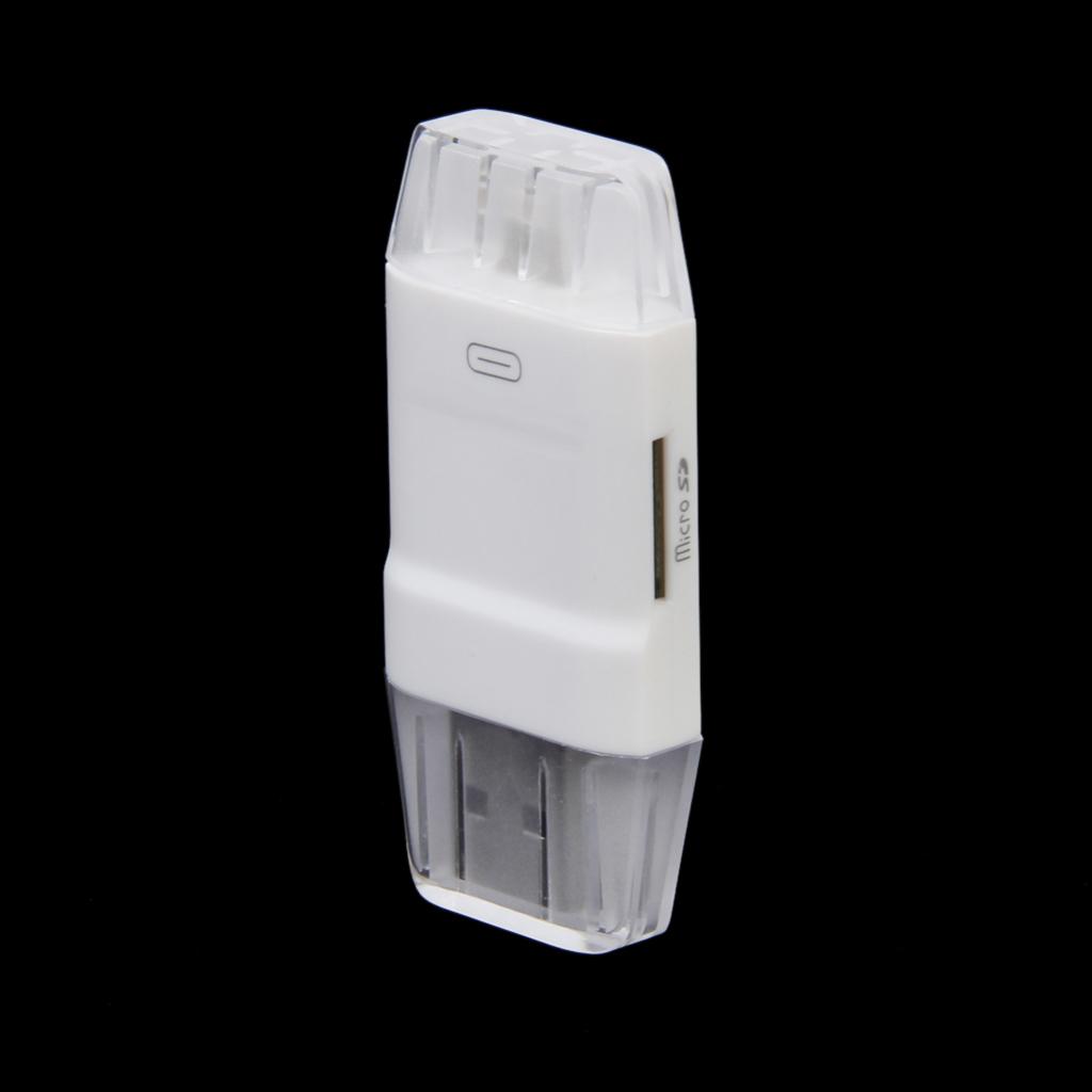 USB i-Flash Drive Memory Card Reader for iPad 4 Mini iPhone 5S/6 6Plus