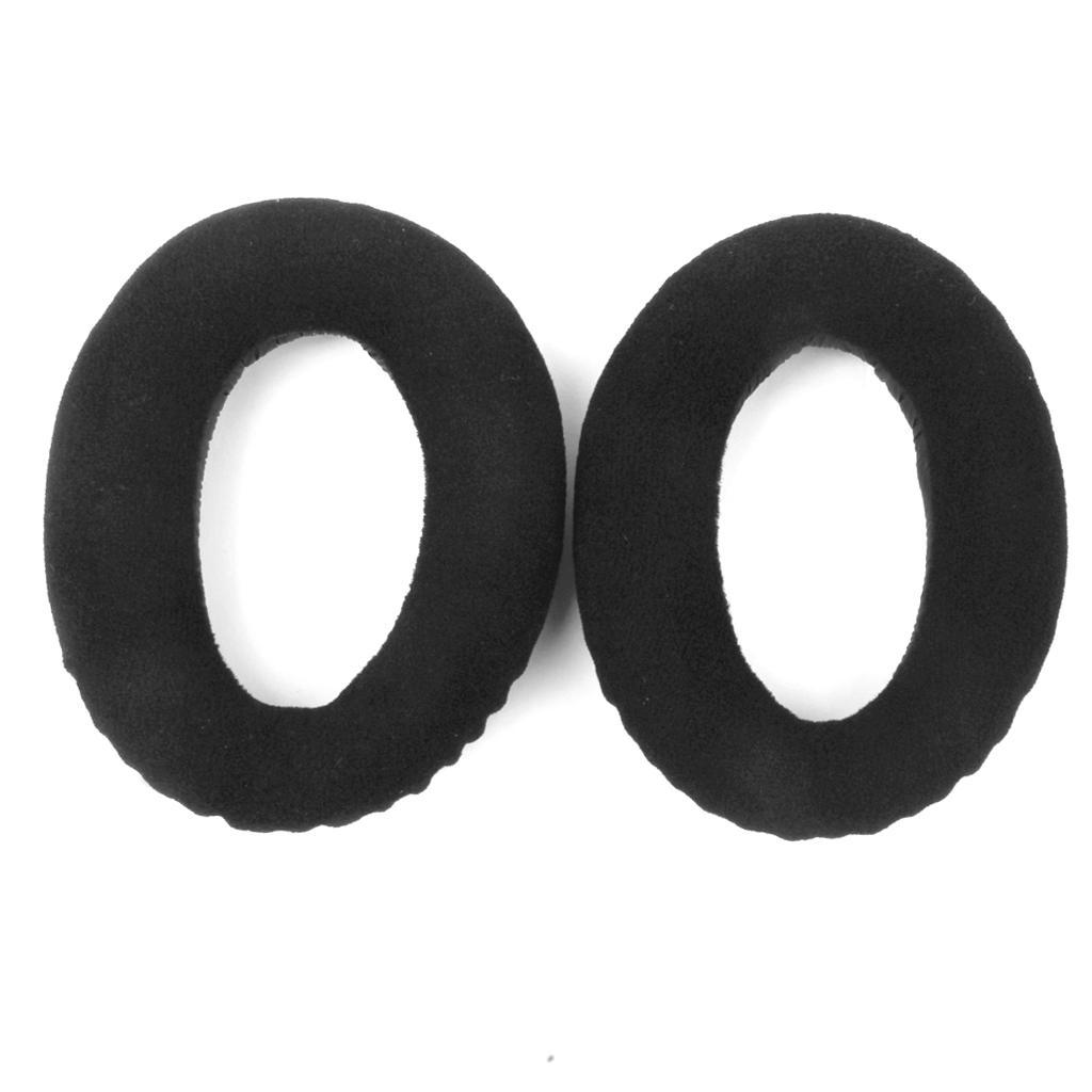 Black Replacement Ear Cushion Pads for Sennheiser HD545 HD565 HD580 HD600 HD650 Headphones