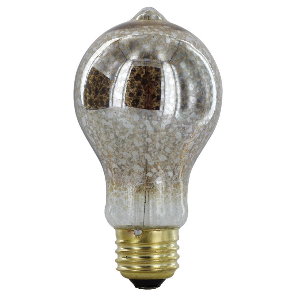 220-240V Silvering Edison Tungsten Filament Vintage Light Bulb E27 A19