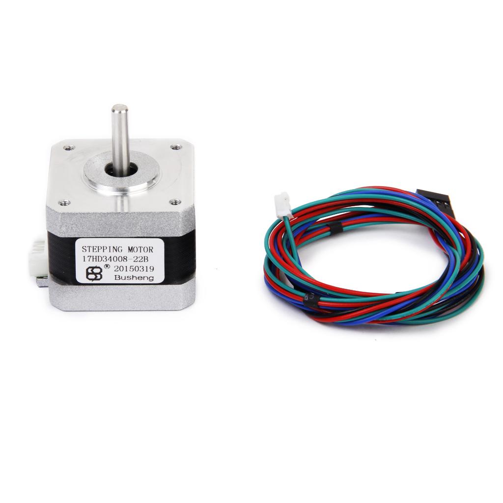 Nema 17 3D Printer Two-phase 4-wire Stepper Motor for 1.8Deg 17HD34008-22B
