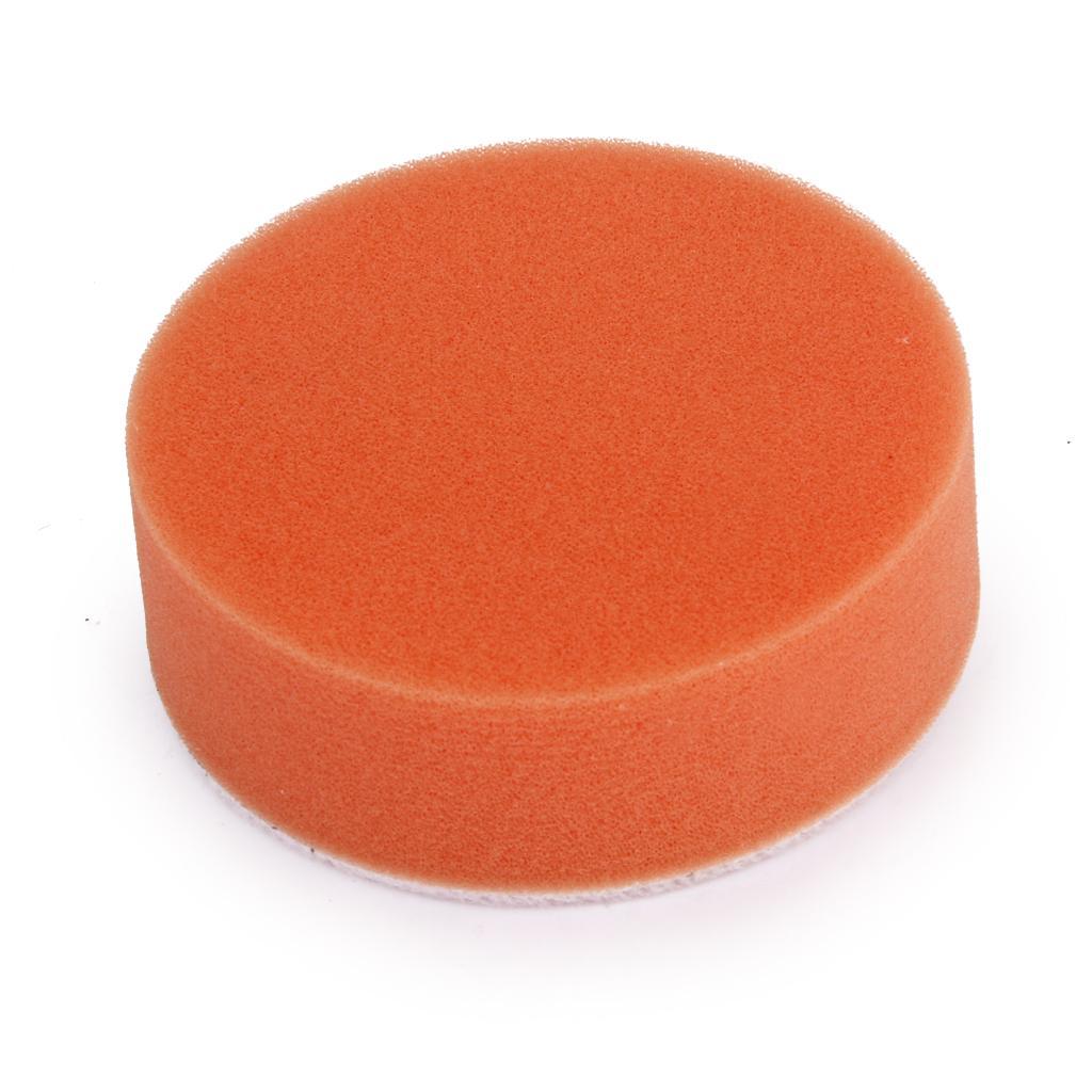 7 inch Washing Cleaning Polishing Sponge Buffing Pad of Car/Metalware Orange