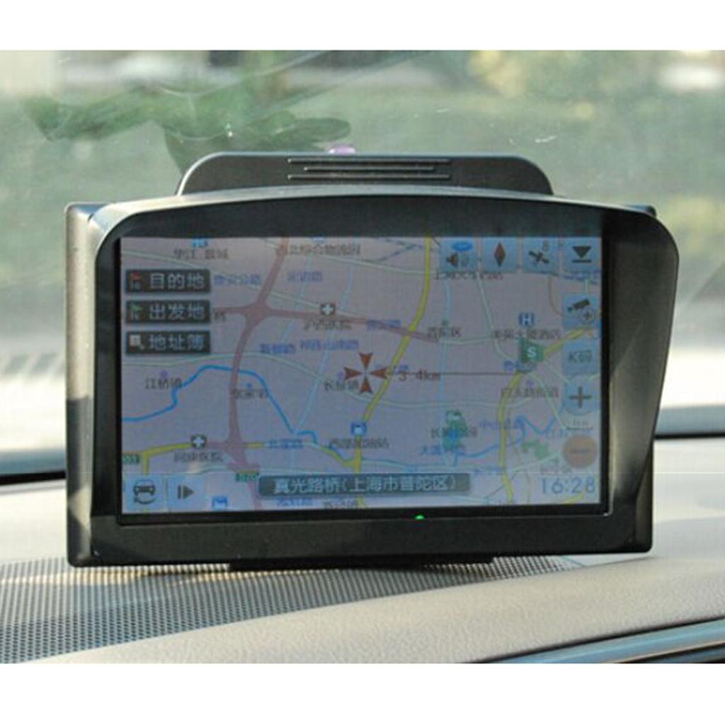 "5"" Universal Car GPS navigator Sunshade Sun Shade Sunshield Visor Anti Glare"