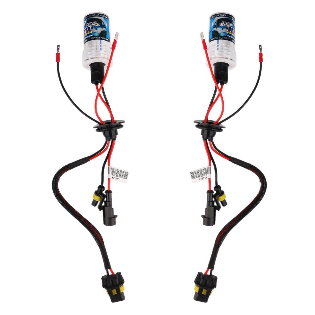 H1 4300k HID Xenon Replacement Bulb 2 Bulbs Headlight 35W Lamps Light