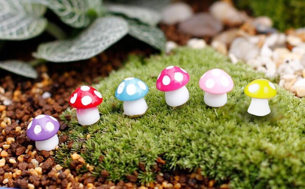 20pcs Miniature Dollhouse Bonsai Fairy Garden Landscape