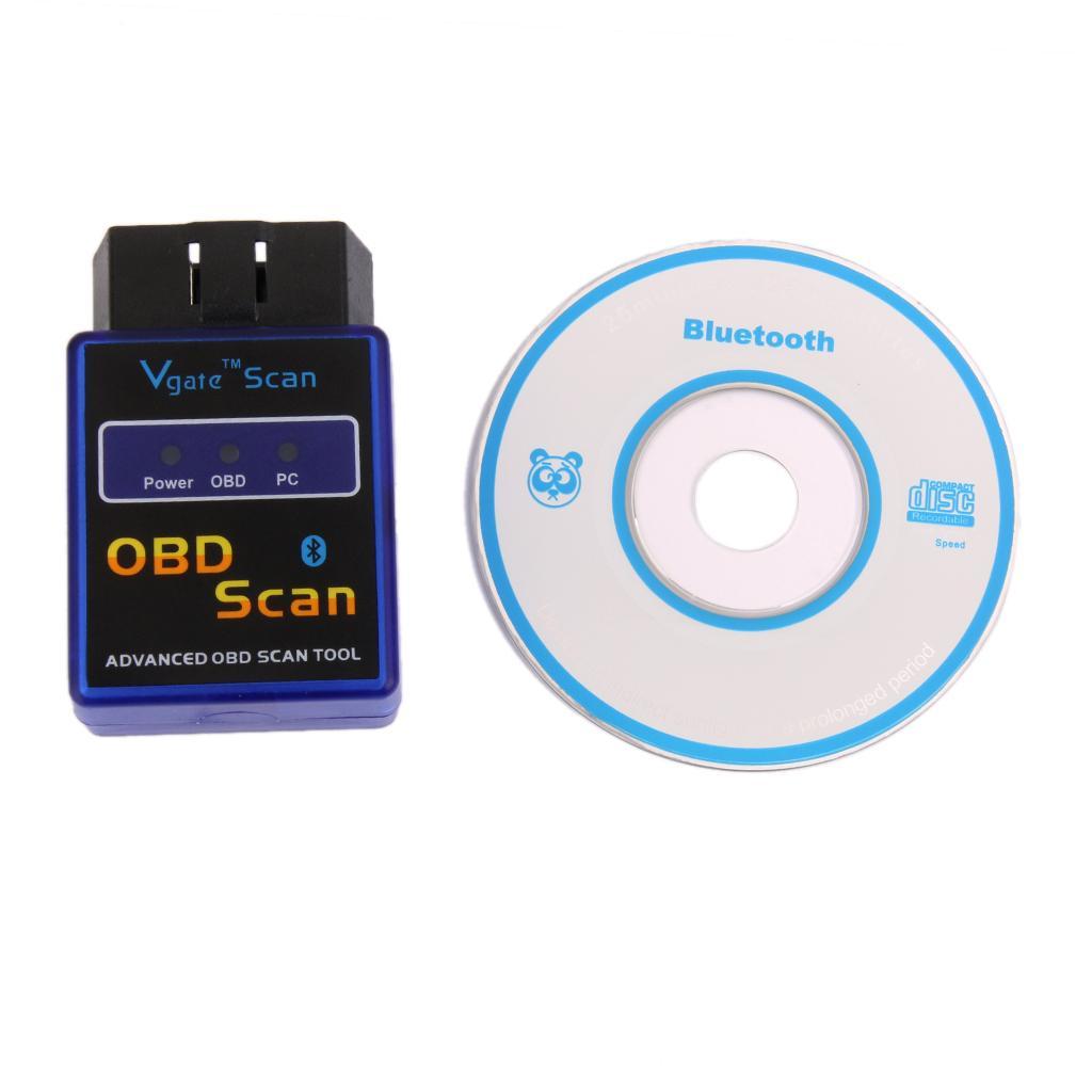 Mini ELM 327 B Bluetooth OBD Diagnostics Scan Scanner Adapter for VW / Audi