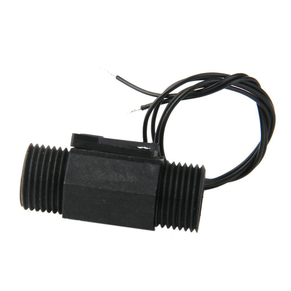 G1/2 Flow Switch Water Heater Flowmeter Counter Flow Switch Valve 20mm