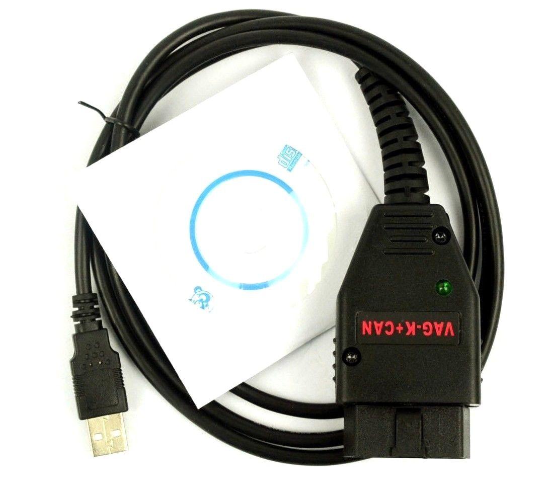 VAG K+CAN 1.4 obd2 Diagnostic Scanner tool COM cable For VW Audi Skoda
