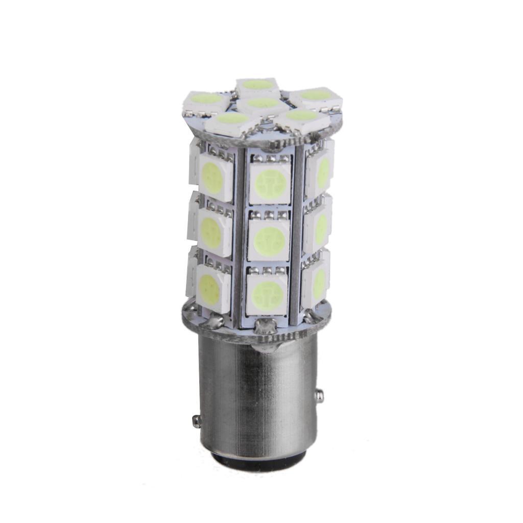 Ice Blue 1157 27-SMD 5050 LED Light Backup Reverse Turn Signal Bulb Lamp