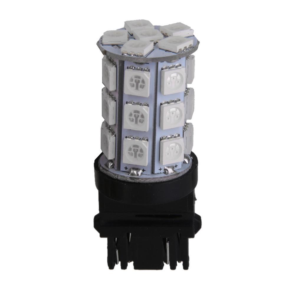 T25 27 SMD 5050 LED 3157 Car Tail Brake Stop Parking Light Bulb Green 12V