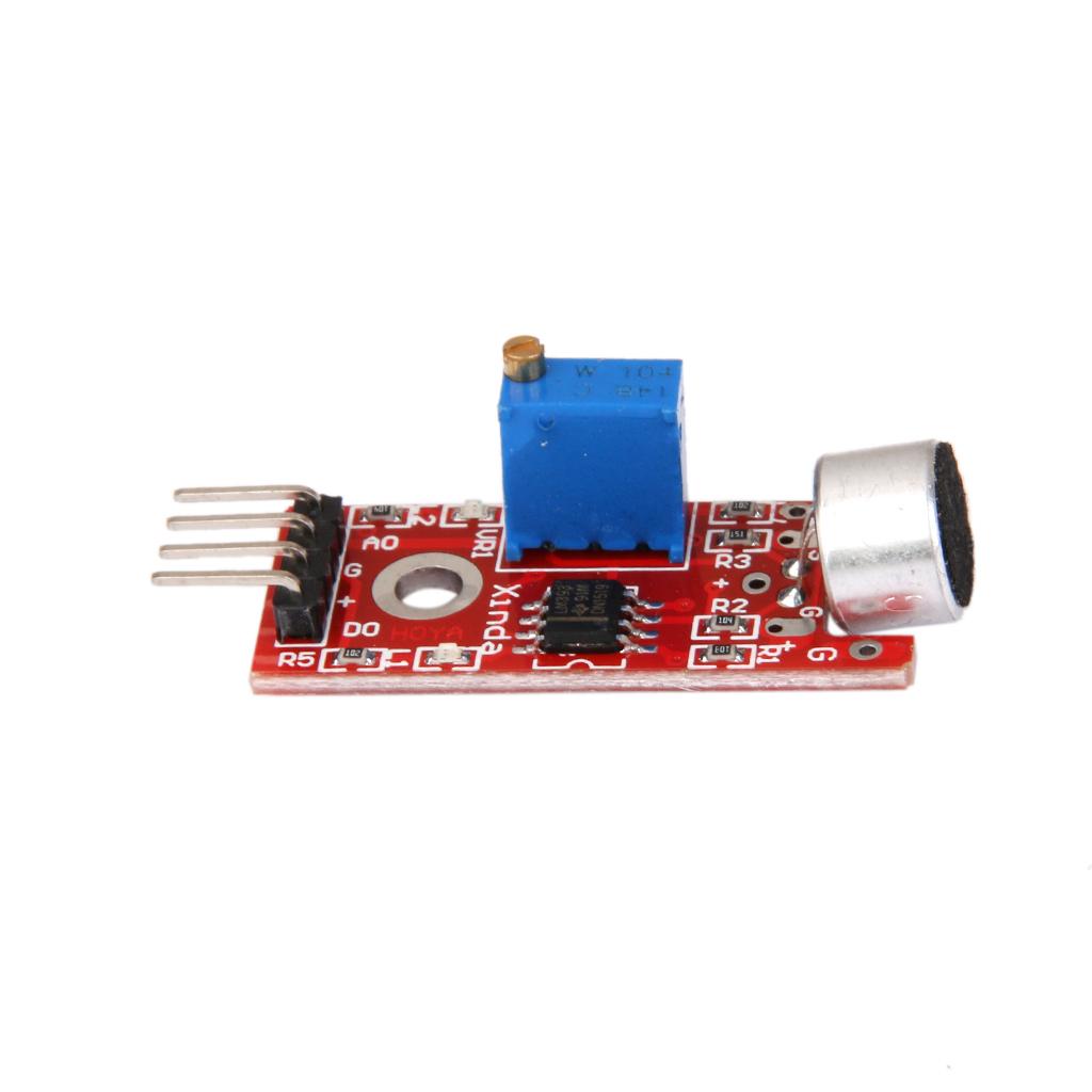 DC 5V Microphone MIC Controller Sound Detection Sensor Module for Arduino