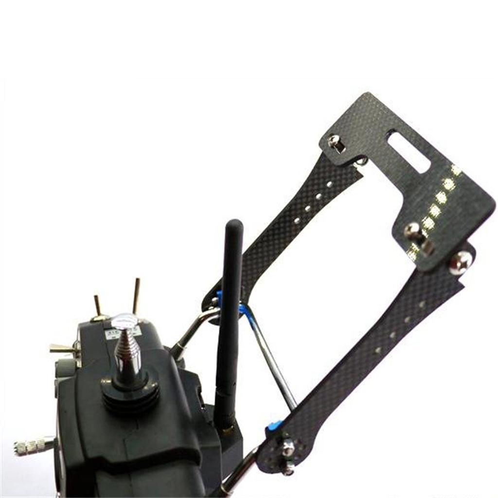 FPV LCD Monitor Mount Bracket for for DJI Phantom JR Futaba Transmitter