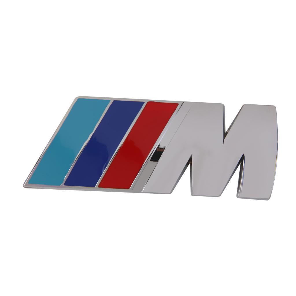 M SPORT 3D Metal Badge Metal Emblem Sticker Logo Decal for BMW M Series