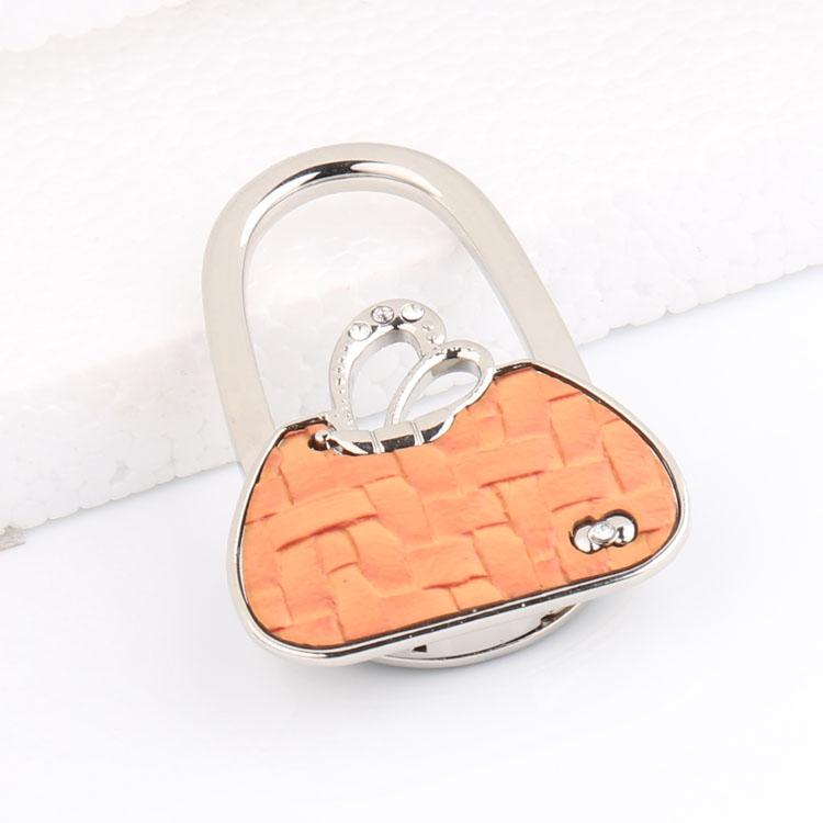 Rabbit ear foldable purse bag rhinestone hanger handbag for Rabbit tattoo kit