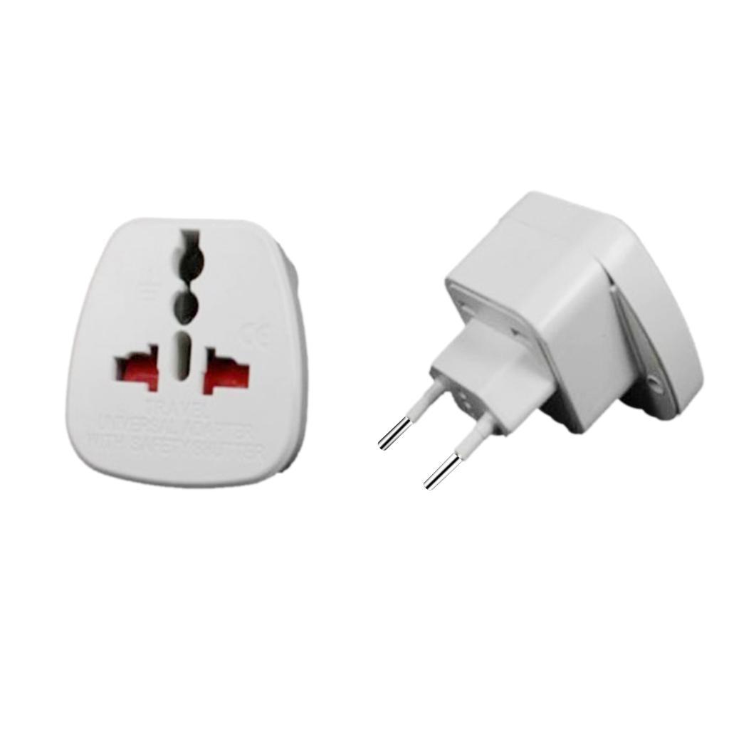 Australia US UK EU To Brazil Plug Power Adapter Travel Adaptor with Shutter