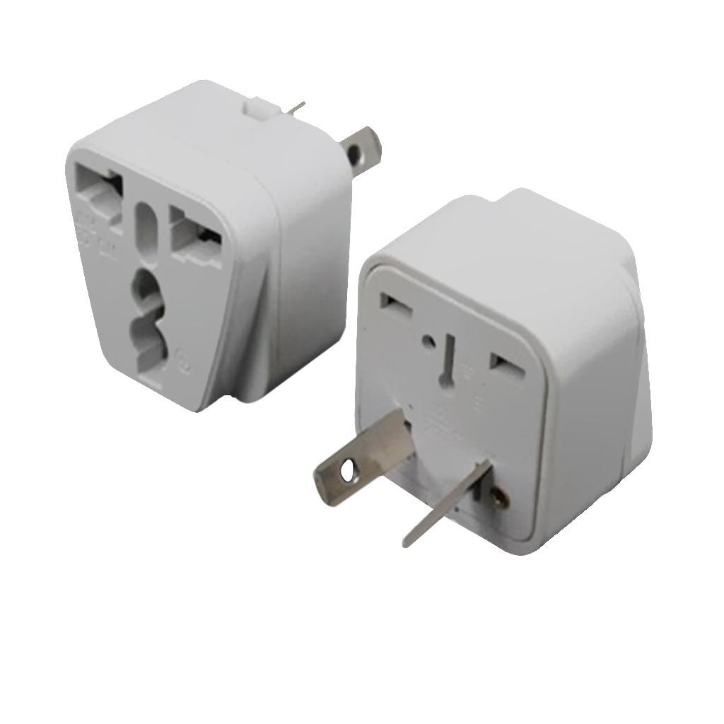 US EU UK Universal to AU AUS AC Power Plug Travel Adapter Converter