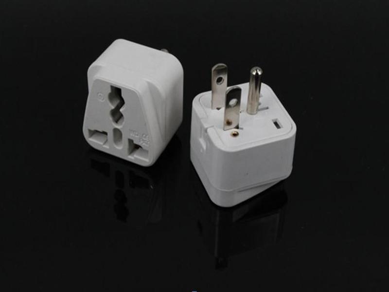 Universal UK/EU/AU to US America 3 Pins Travel Power Adapter Plug Jack