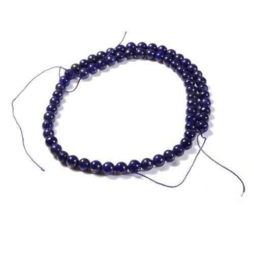 Lapis Lazuli Round Gemstone Beads Strand 6mm / 15 Inch