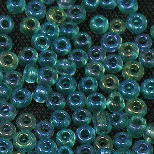 45g Rainbow Green 11/0 Glass Seed Beads 23A-3#