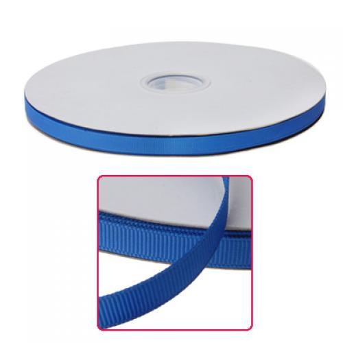 3/8 Inch Solid Grosgrain Ribbon 100 Yards / Roll- Royal Blue 350#