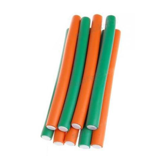 10PCS New Soft Bendy Hair Rollers Foam Curler 20mm Large Random Color