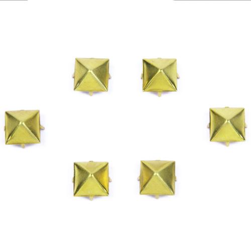 Brass Pyramid Studs