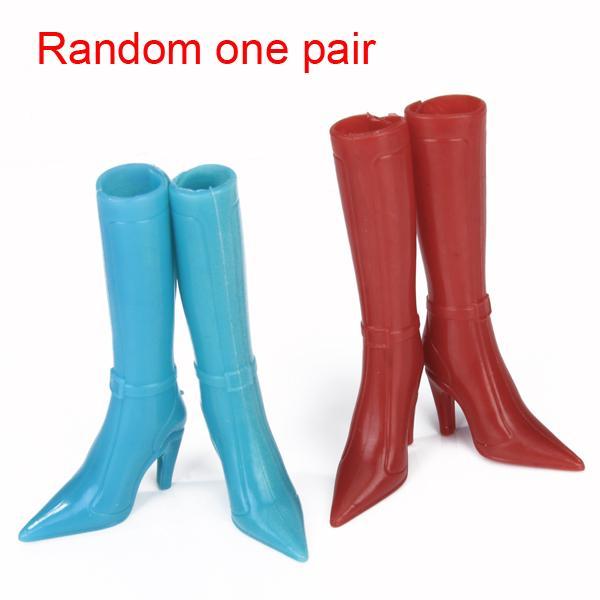 Barbie Doll Modern High Heel Cusp Boots