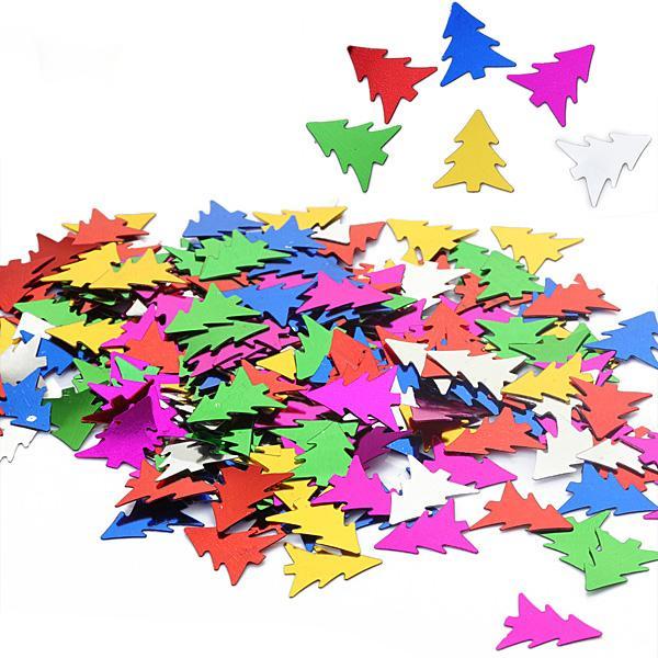 150pcs Christmas Tree Sequin Confetti Scrapbooking