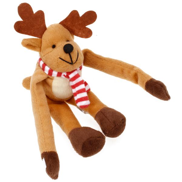 Hanging Stuffed Christmas Plush Reindeer