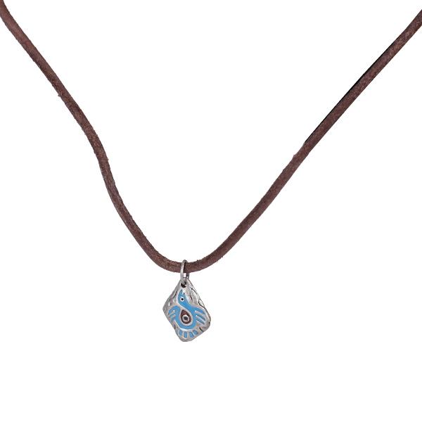 Maya Totem Bird Pendant Chain Necklace