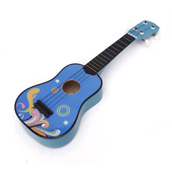 Original Real Soprano Ukulele 21 Inch Blue