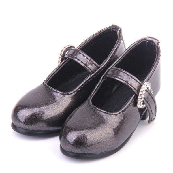 1/3 BJD Dollfie Dolls Mary Jane Shoes w/Heart Shape Buckle