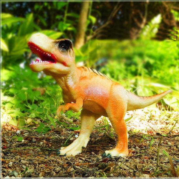 Tyrannosaurus Rex Dinosaur Children Toy Ornament