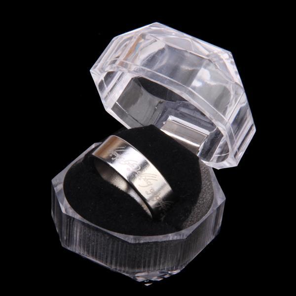Magnetic Ring Magic Trick Magic Prop w/ Box - US Size 10 1/4