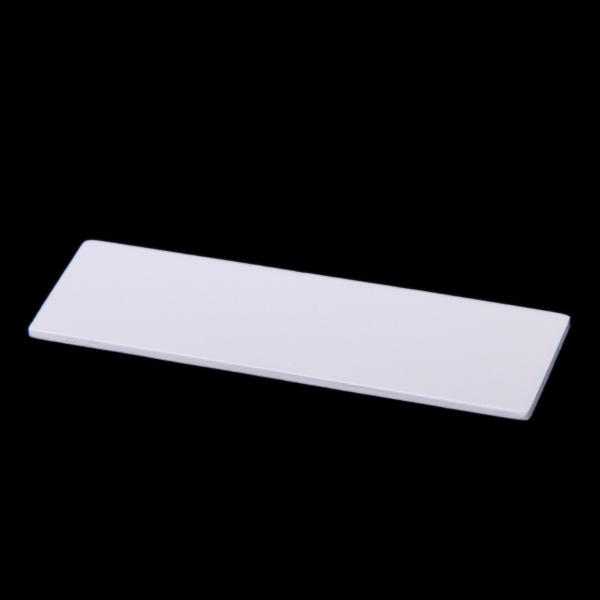 "White Flat Birch Wood Veneer 3""x 1"" Dollhouse Miniature 1:12 Scale"