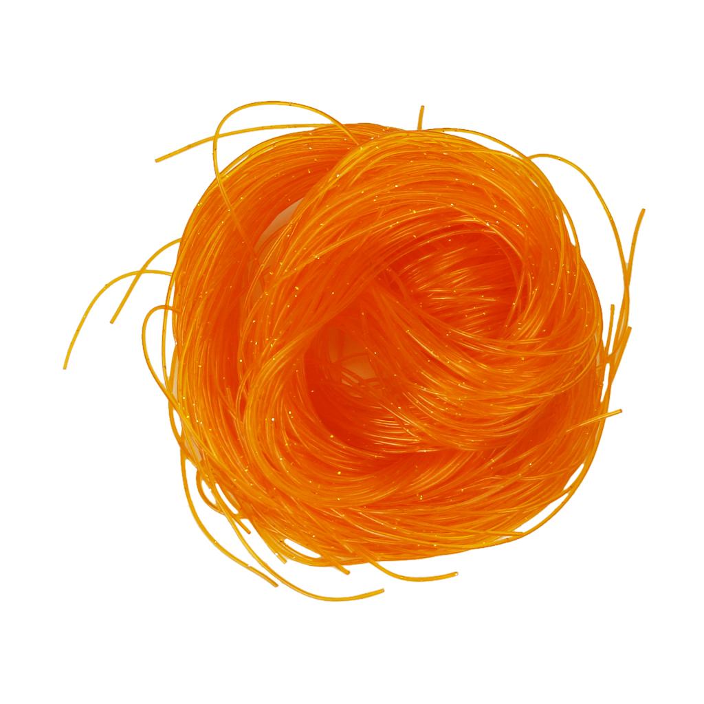 50pcs Fashion Scoubidou Scooby Strings For Knit Craft Orange