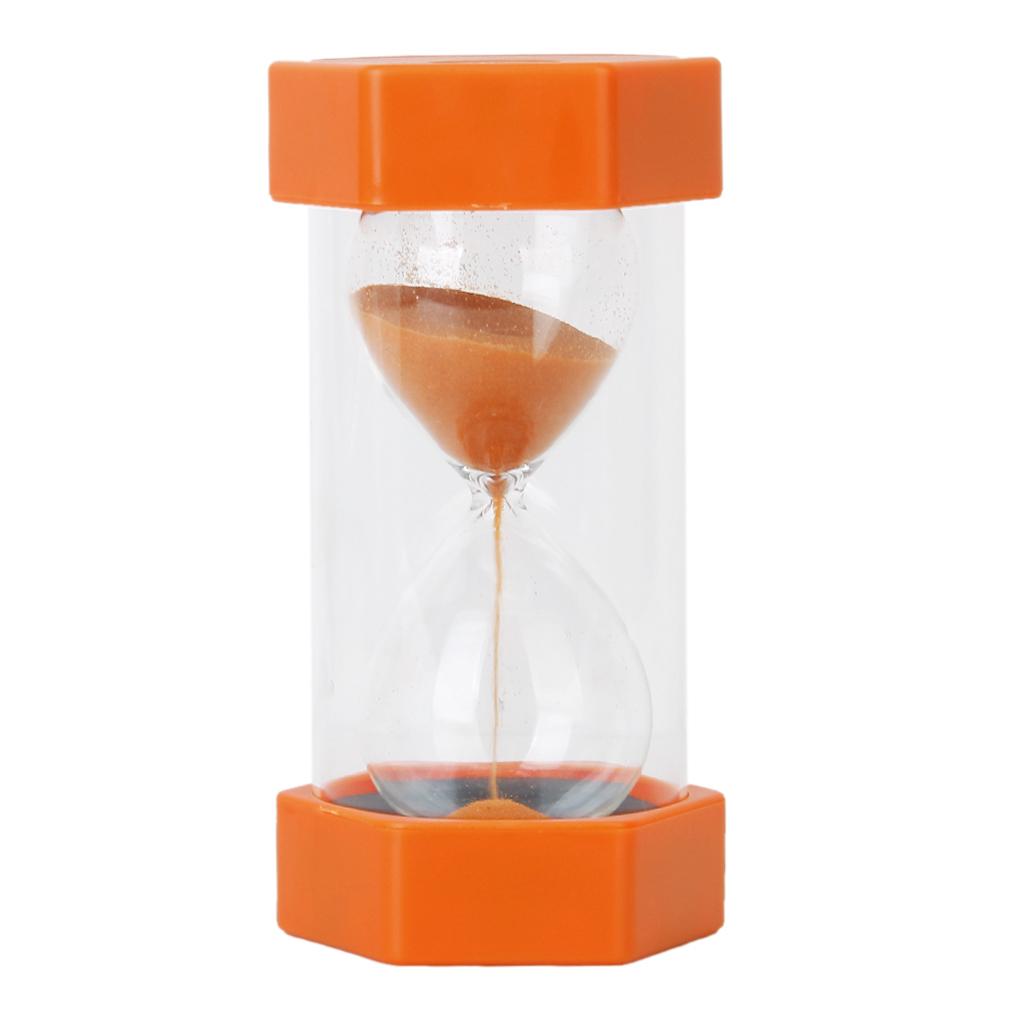 Security Fashion Hourglass 10 Minutes Sand Timer -Orange