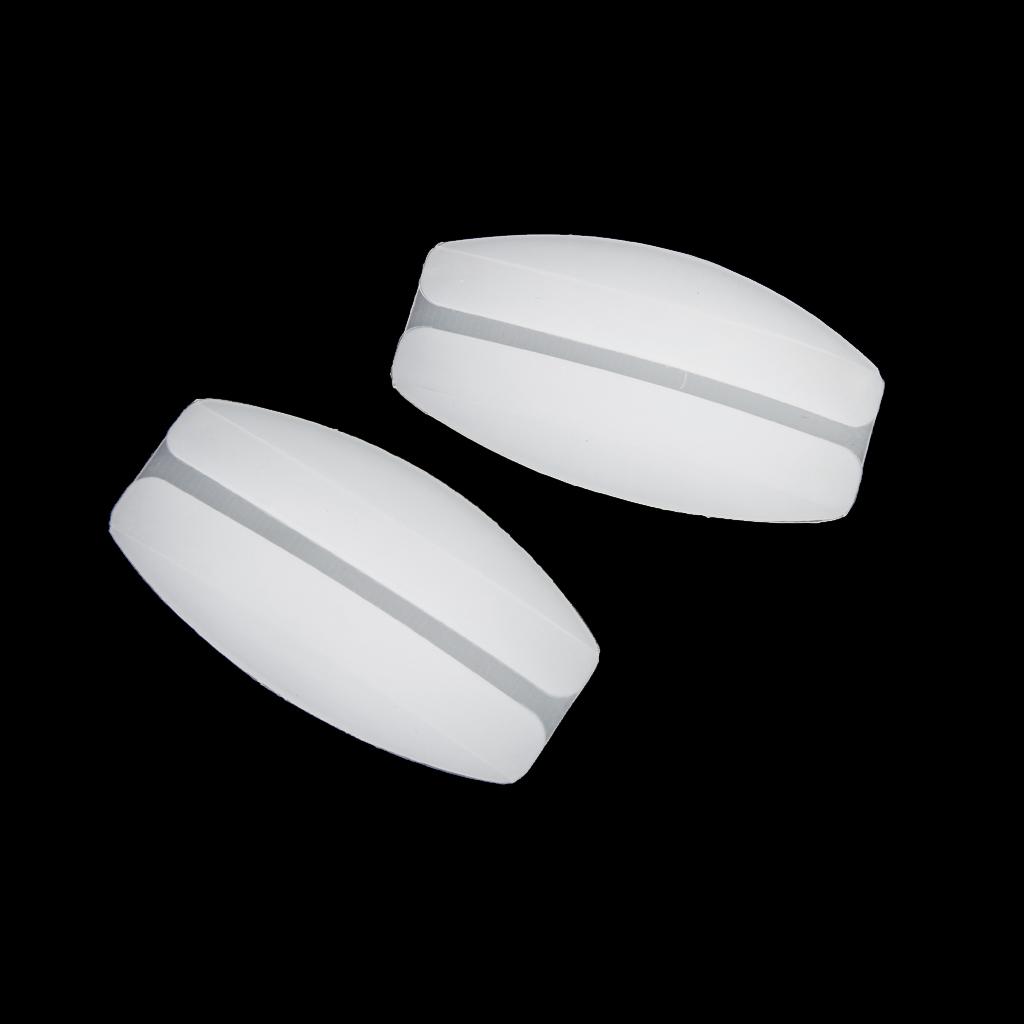 Silicone Bra Strap Cushions Non-slip Shoulder Pads White
