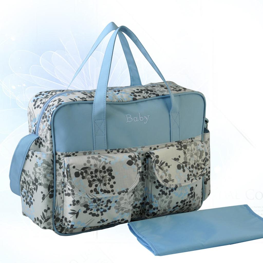 Waterproof Baby Diaper Nappy Bag Nursery Changing Bag Mummy Handbag Dandelion Pattern