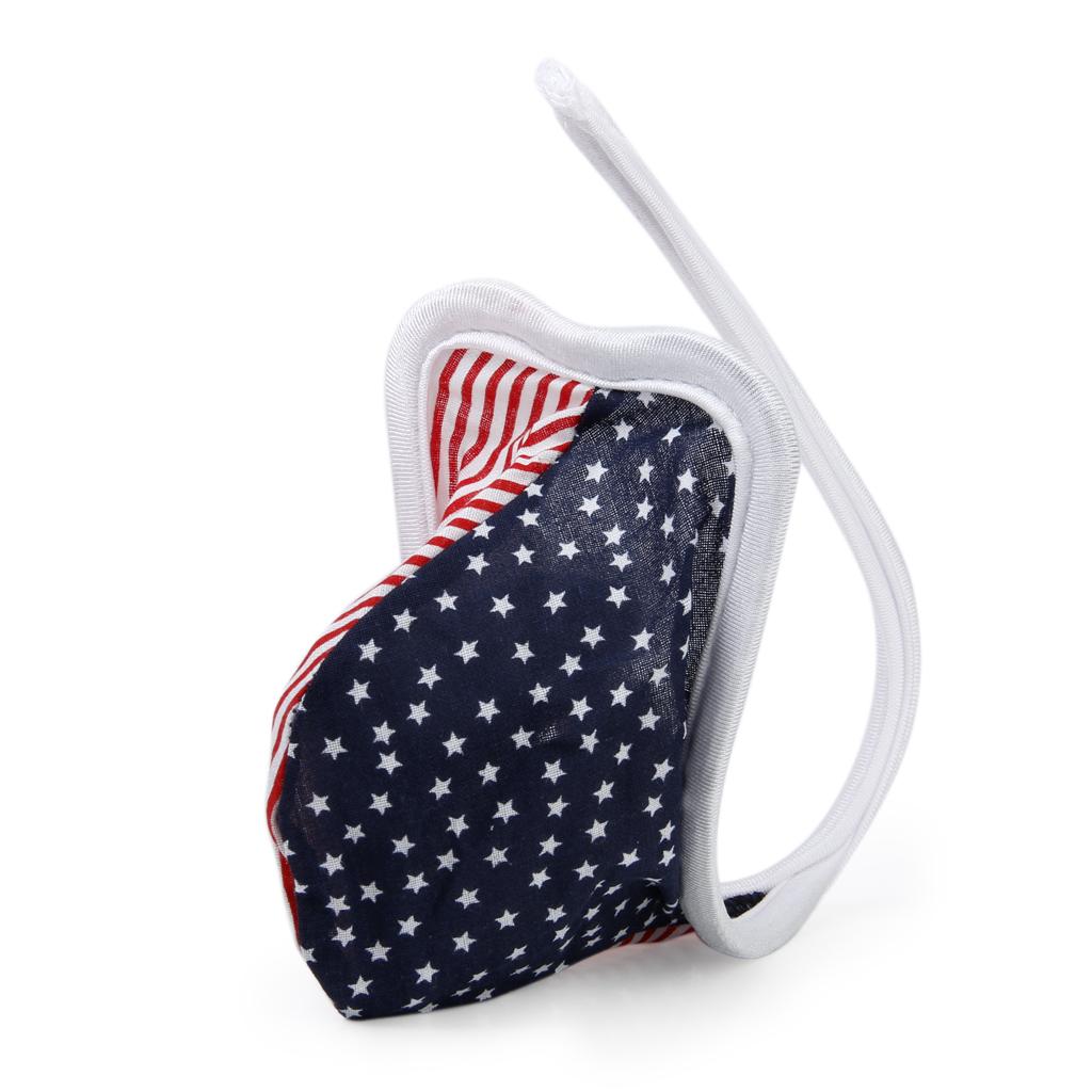 Sexy Men's C-string Underwear Pouch Bikini Panty w/ US Flag Patte...