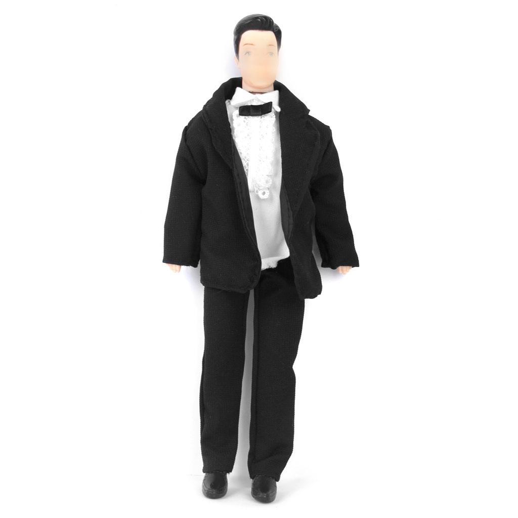 Set 3 pcs Suit for Barbie Doll Ken Prince